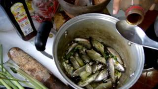 How to cook fish Traditional Laos food recipes ,Laos video food 2017.