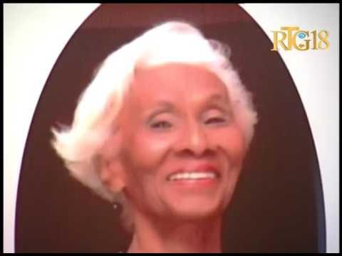 Les funérailles de la danseuse Viviane Gauthier, ce mardi 6 juin 2017.