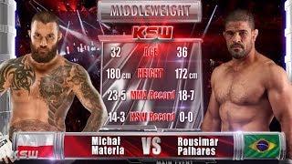 Video KSW Free Fight: Michal Materla vs. Rousimar Palhares MP3, 3GP, MP4, WEBM, AVI, FLV Juli 2018