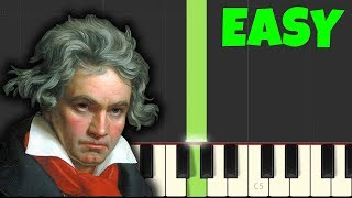 Video HOW TO PLAY Für Elise for Beginners [Easy Piano Tutorial] (Synthesia) MP3, 3GP, MP4, WEBM, AVI, FLV Juni 2018