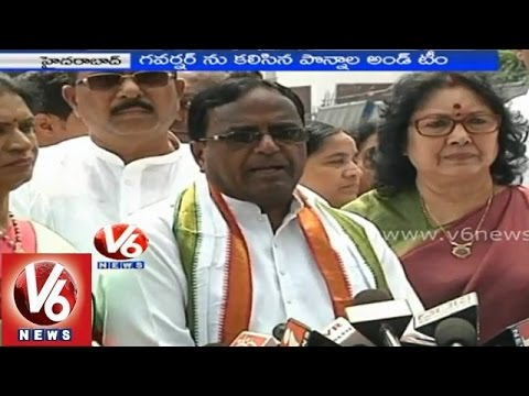 Telangana state all parties made continuous strikes