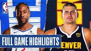 CLIPPERS at NUGGETS   FULL GAME HIGHLIGHTS   January 12, 2020