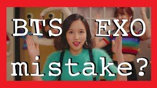 Video MISTAKES IN KPOP MUSIC VIDEOS (BTS, TWICE, EXO & more) MP3, 3GP, MP4, WEBM, AVI, FLV Juli 2018