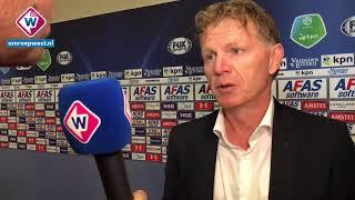 Reactie Fons Groenendijk na AZ - ADO Den Haag.