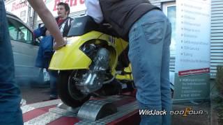 9. Dyno Run Vespa BSG 150cc 47.4 HP - Stefano Scauri
