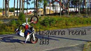 9. Husqvarna SM/WR 125 - reeniä 2k13 - GoPro 3