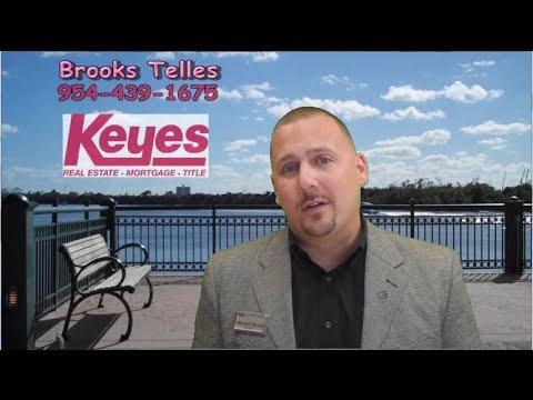 Realtor Brooks Telles of Keyes Real Estate in Palm Beach Gardens FL