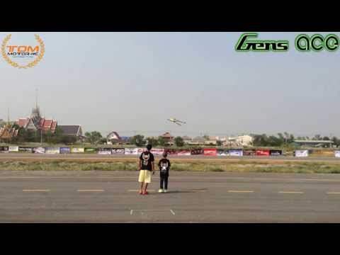 Gens Ace - Tommotor rc - Thailand Heli Blowout 201