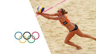 Video Women's Beach Volleyball Pool D - NED v ESP | London 2012 Olympics MP3, 3GP, MP4, WEBM, AVI, FLV Maret 2018