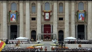 Rome Reports video summary of Canonization Mass