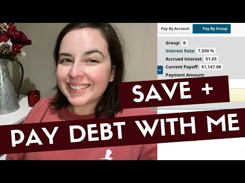 Pay Debt With Me | Car Savings Transfer Tuesday | Vlogmas 2019 Day 3