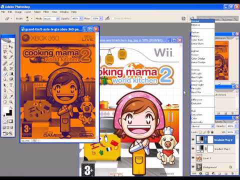 Fake Cover Cooking Mama Xbox 360