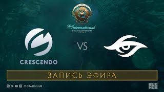 Crescendo vs Team Secret, The International 2017 Qualifiers [Mortalez]