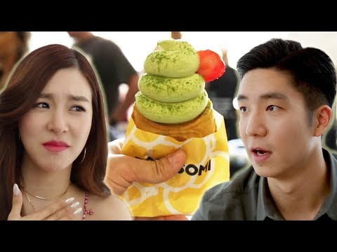 Tiffany Young Helps Me Find The Best Ice Cream In Los Angeles
