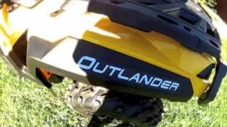 9. 2014 Can-am outlander 1000 XT -GoPro HD Hero2