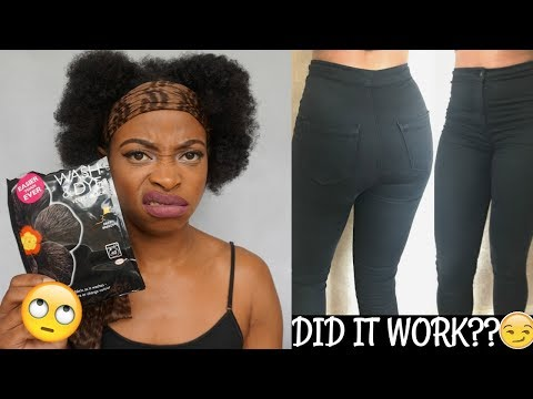 DYING MY JONI JEANS BACK TO BLACK! | DID IT WORK?? | DYLON WASH AND DYE
