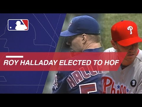 Video: Watch Halladay's career highlights following his election to HOF