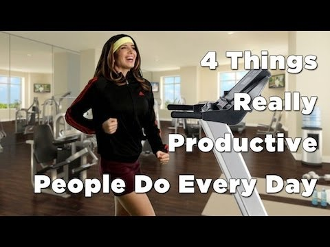 Watch 'How To Be Productive - YouTube'