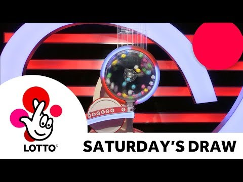 The National Lottery 'Lotto' draw results from Saturday 21st October 2017 (видео)
