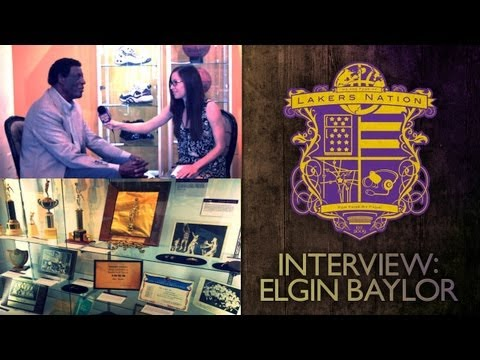 baylor - [5/21/13] LakersNation.com's Serena Winters interviews Lakers legend Elgin Baylor who has decided to auction off his vast collection of memorabilia at Julien...