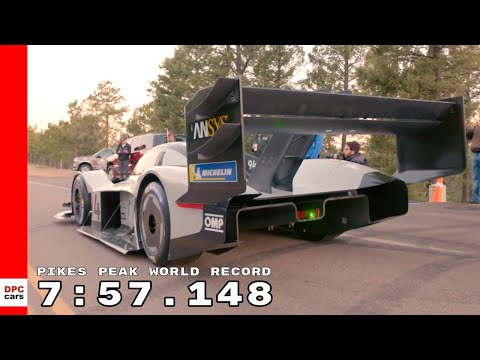 Pikes Peak VW I.D.  R World Record