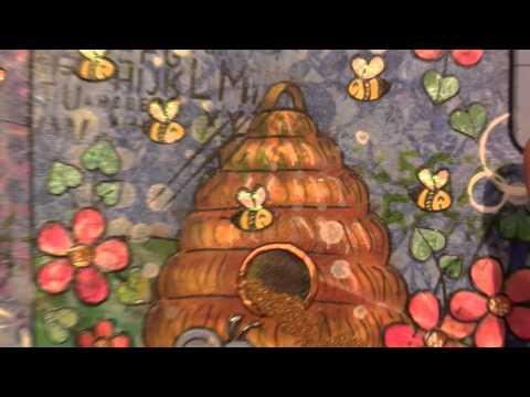 Gelli Print Collage Mosaic