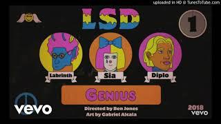 LSD - Genius ft. Sia, Labrinth & Diplo (Áudio)