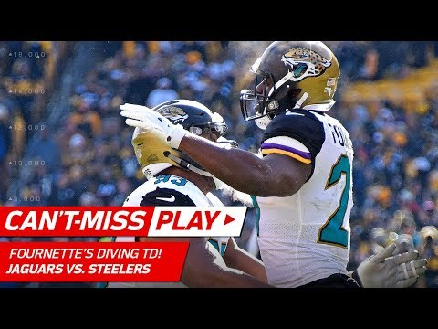 Video: Leonard Fournette Soars Over the Line to Cap Off TD Drive! | Can't-Miss Play | NFL Divisional HLs