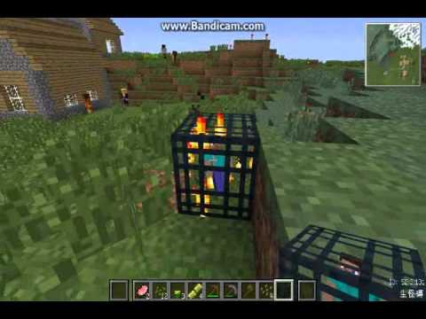 當個創世神-楓楓的村莊模組冒險-第1集 一開始就挨打!