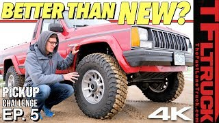 Here's Why This Old Truck Is Better Than Any New One! Cheap Jeep Challenge S2 Ep.5 by The Fast Lane Truck