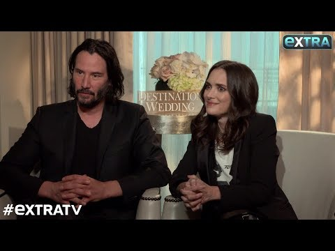 Watch! Winona Ryder Has Keanu Reeves Blushing in This 'Extra' Interview