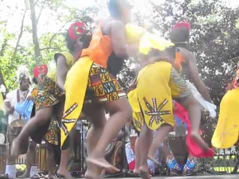 Universal African Dance & Drum Ensemble at the 2012 Odunde Festival in Philadelphia