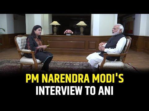 PM Shri Narendra Modi's interview to ANI - 1 January 2019