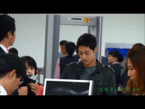 20131019 김포공항에서 하네다공항  김현중  KIM HYUN JOONG
