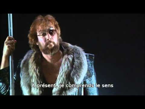 Wagner: Die Walkure, Act 2, Barenboim/Kupfer, french subs.