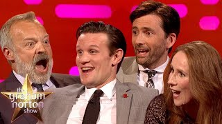 Video The BEST Of Doctor Who On The Graham Norton Show Part One MP3, 3GP, MP4, WEBM, AVI, FLV November 2018