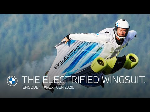 The electrified wingsuit