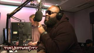 Rick Ross mc Hammer interview & performance - Westwood