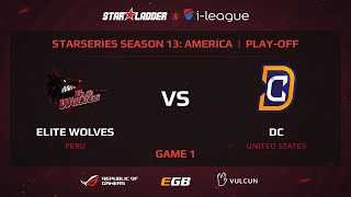 Elite Wolves vs DC, game 1