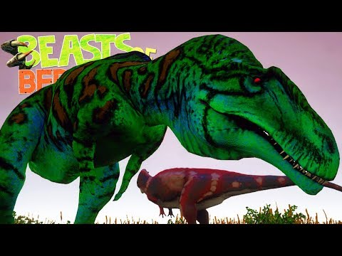 Beasts of Bermuda - Mosassauro Maldito, Acrocanthosaurus e Elasmosaurus!  (#4) (Gameplay/PT-BR)