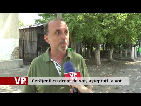 Cetățenii cu drept de vot, așteptați la urne