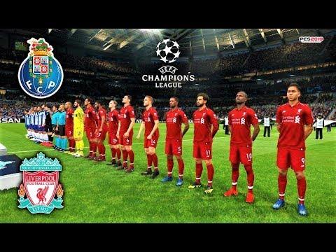 Porto vs Liverpool | UEFA Champions League - UCL 2019 | PES 2019 Gameplay HD