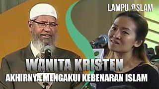Video Wanita Kristen Akhirnya Mengakui Kebenaran Islam | Dr. Zakir Naik UMY Yogya 2017 MP3, 3GP, MP4, WEBM, AVI, FLV Mei 2019