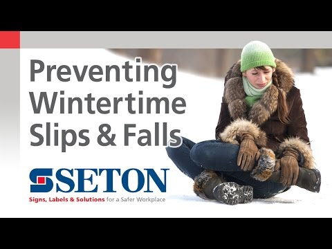 Preventing Wintertime Slips and Falls on your Property