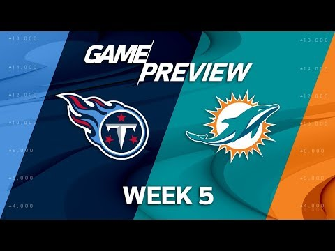 Video: Tennessee Titans vs. Miami Dolphins | Week 5 Game Preview | NFL Playbook