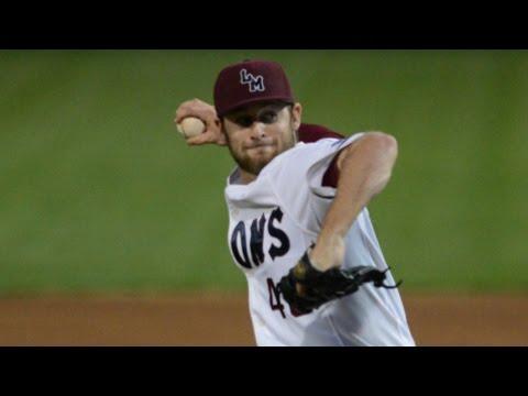 LMU Pitcher Cory Abbott Tosses Perfect Game vs. BYU | CampusInsiders (видео)