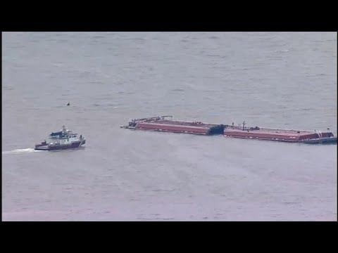 Συγκρούστηκαν πλοία στο κανάλι του Χιούστον