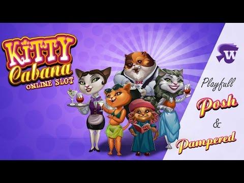 Kitty Cabana slot game [Wild Jackpots Casino]