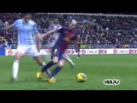 Andres Iniesta Skills