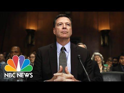 Former FBI Director James Comey Testifies Before Senate (Full) | NBC News